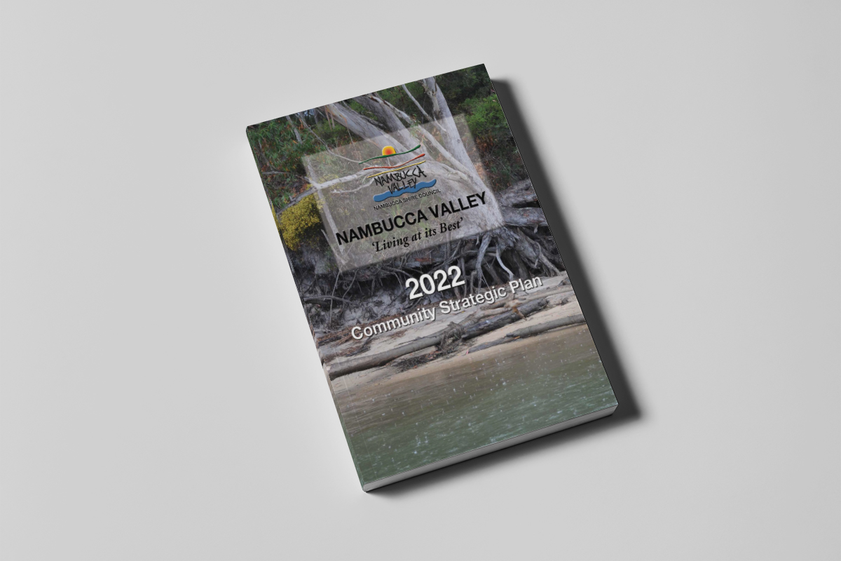 Bluefish graphics corporate design Nambucca Shire council